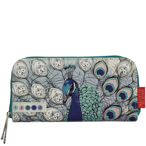 DISASTER DESIGNS - COLOR ME PEACOCK Wallet