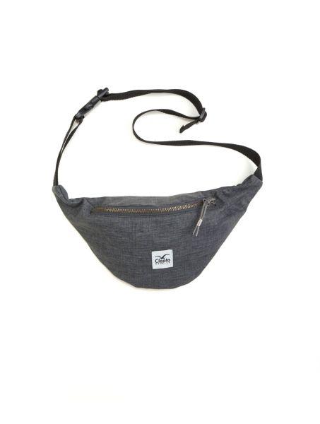 CLEPTOMANICX - HEMP HIPBAG - Tasche heather dark gray