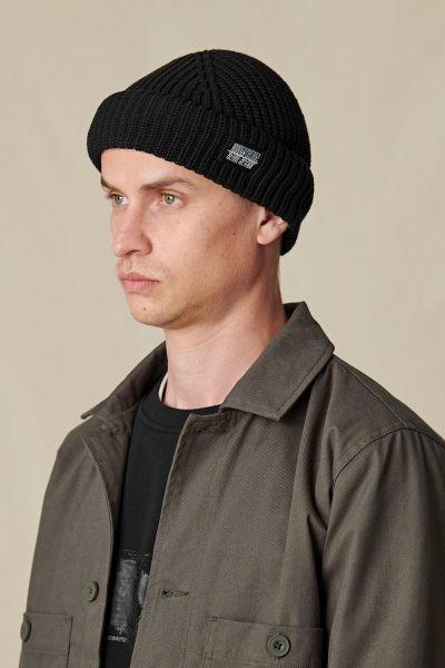 GLOBE - REFUSE BEANIE Mütze black