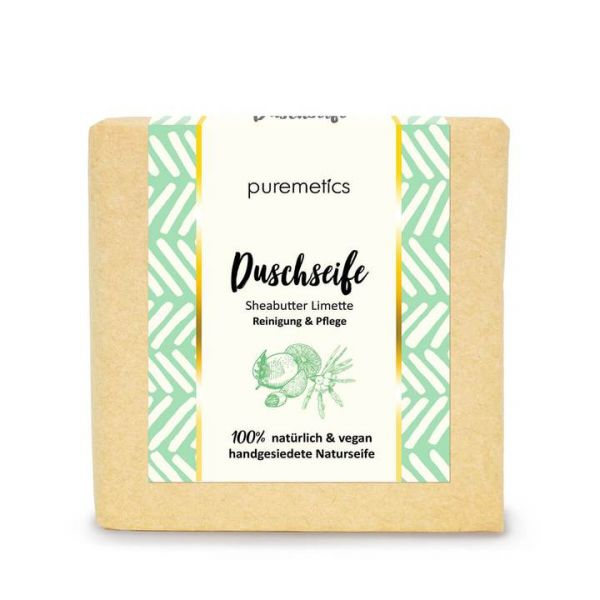 Puremetics - Duschseife 'Sheabutter-Limette'