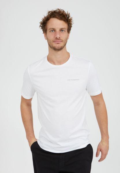 ARMEDANGELS - JAAMES STATEMENT T-Shirt white