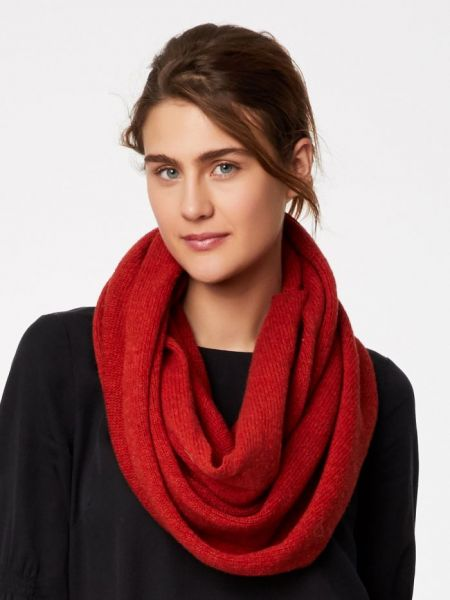 THOUGHT - OWENA SNOOD Loop Schal fox red marle