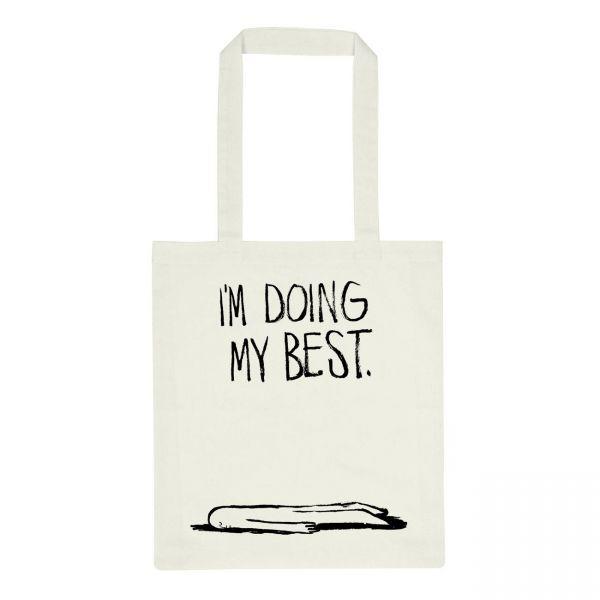 DEDICATED - TOREKOV DOING MY BEST Tote Bag