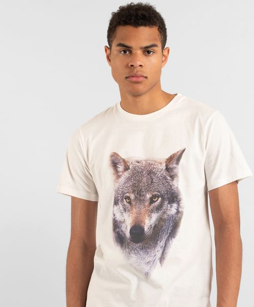 DEDICATED - MOUNTAIN WOLF Stockholm Shirt off-white