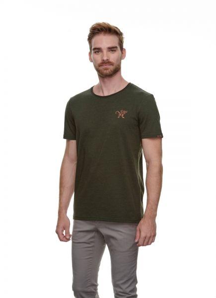 RAGWEAR - REECO ORGANIC T- Shirt olive