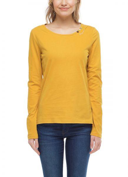 RAGWEAR - FLORAH LONG B ORGANIC T-Shirt honey