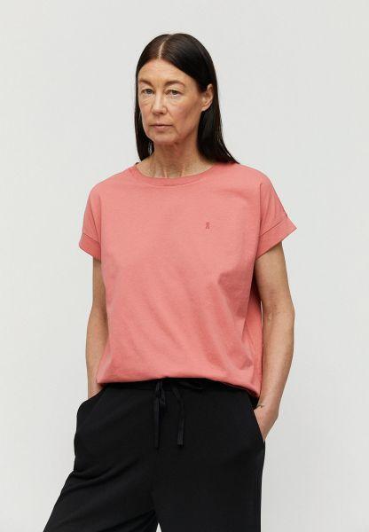 ARMEDANGELS - IDAA LOGO T-shirt cinnamon rose