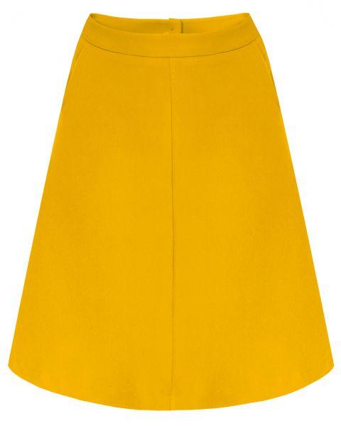 MADEMOISELLE YEYE - LIFE COMES FULL CIRCLE Skirt mustard