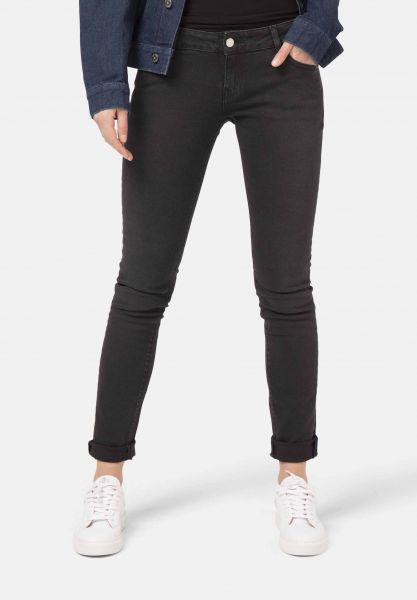 MUD JEANS - SKINNY LILLY Jeans stone black