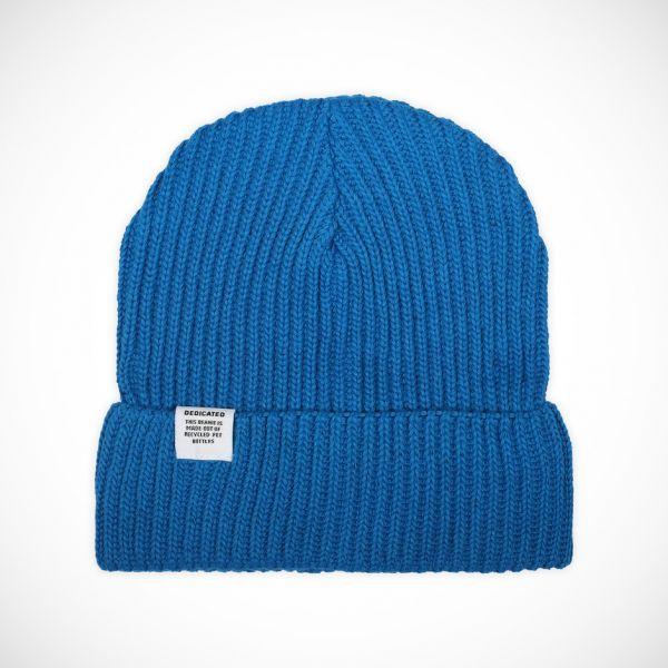 DEDICATED- LOFOTEN BEANIE Mütze blue aster