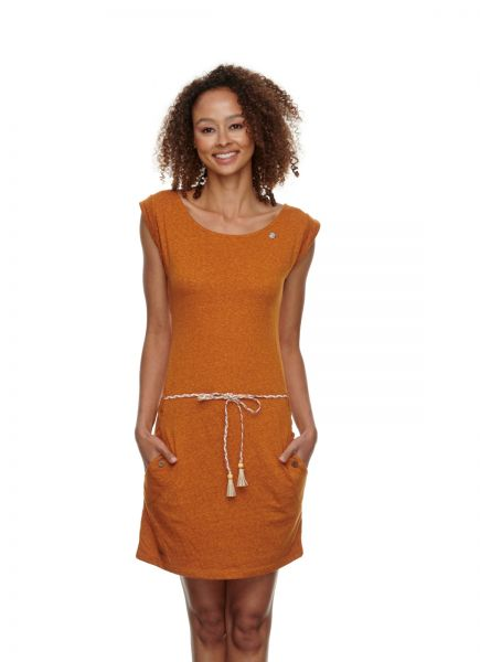 RAGWEAR - TAG DRESS Kleid cinnemon