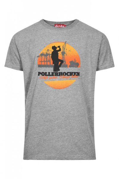 DERBE - POLLERHOCKEN Shirt grey melange