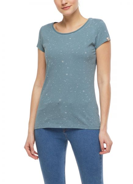 RAGWEAR - MINT B ORGANIC Shirt dusty green