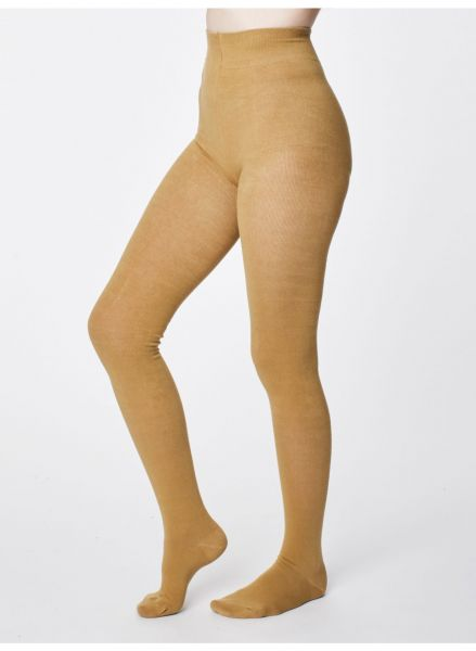 THOUGHT - ELGIN SUPERSOFT BAMBOO Tights soft gold