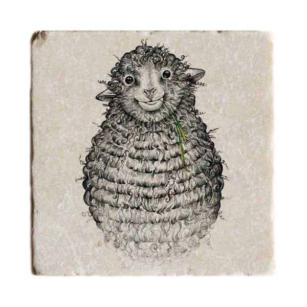 LIGARTI - WOLLFRIED Fliesenuntersetzer