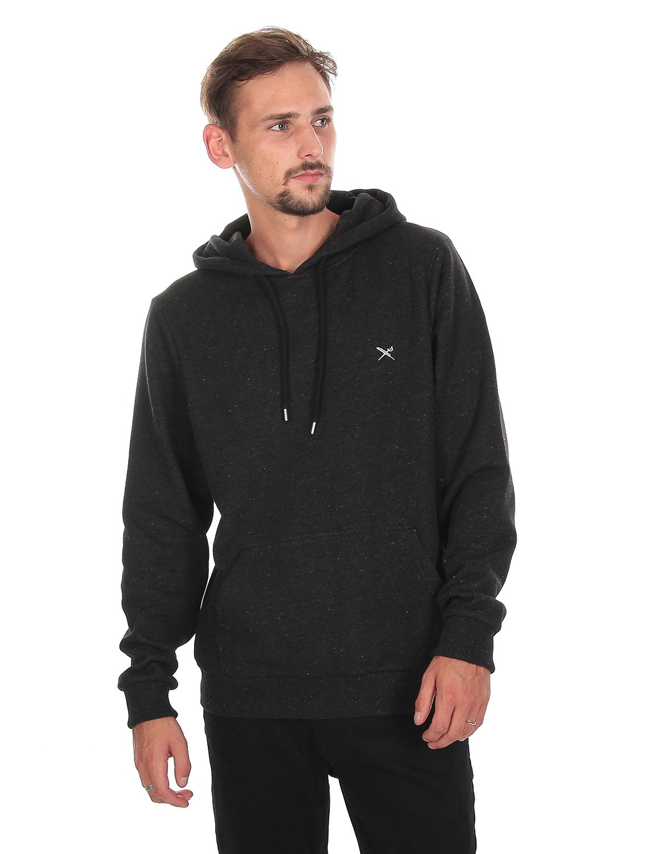 IRIE-DAILY-RETAIN-HOODIE-Hooded-Sweater-black-melange-3