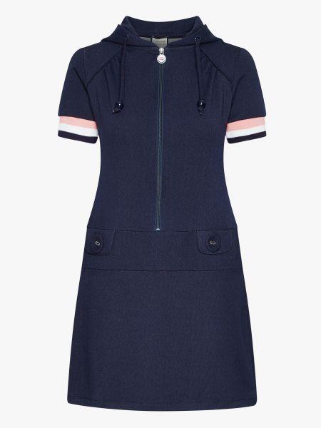 MADEMOISELLE YEYE - RENEE GOT THE BEAT Hoody Dress Kleid denim