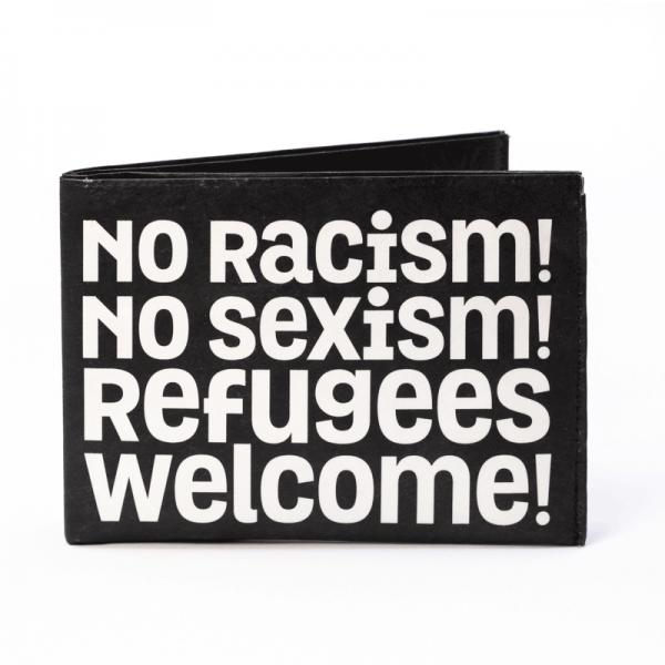 PAPRCUTS - NO RACISM Portemonnaie