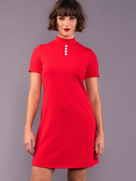 MADEMOISELLE YEYE - PURE JOY Dress Kleid red