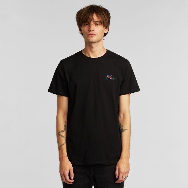 DEDICATED - STITCH BIKE Stockholm Shirt black