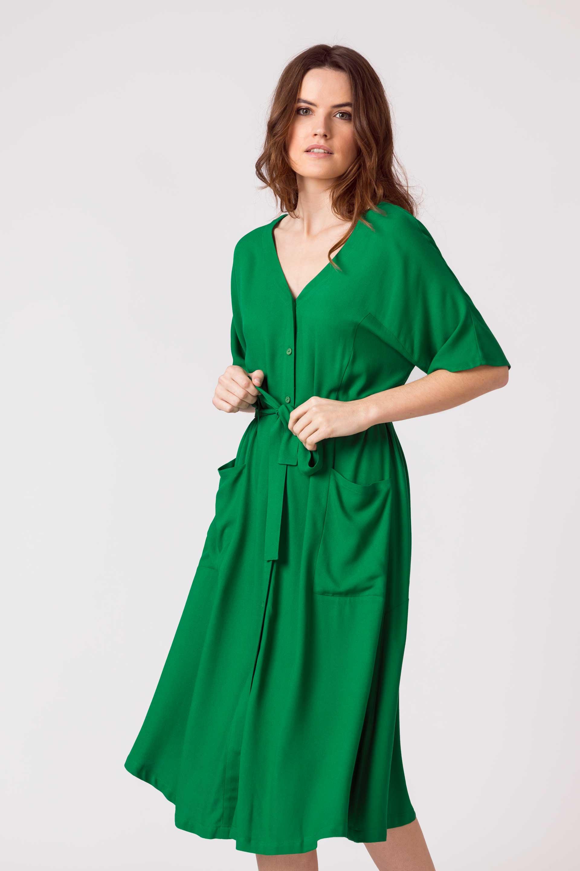 SKFK-NAHIKARI-DRESS-Kleid-G5-grass-green