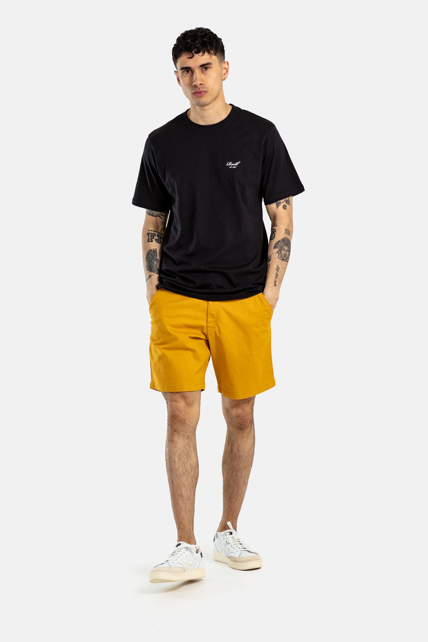REELL-FLEX-CHINO-Short-mustard-yellow