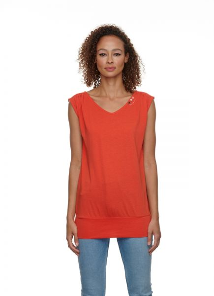 RAGWEAR - CASIDY ORGANIC Shirt chili red