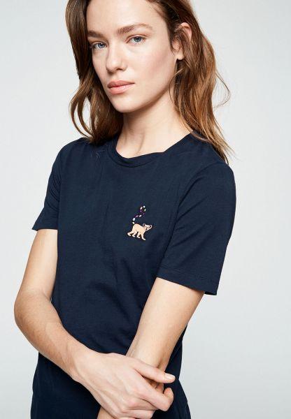 ARMEDANGELS - LIDAA LITTLE MONKEY T-Shirt dark navy