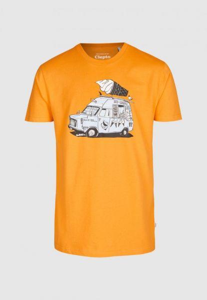 CLEPTOMANICX - ICE ICE Shirt apricot