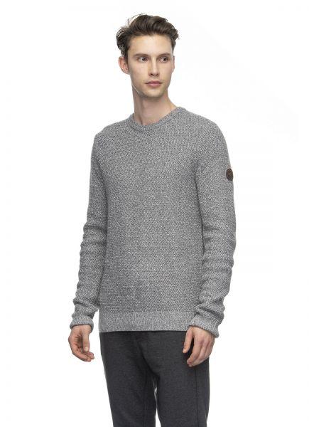RAGWEAR - BADAN Strickpullover grey