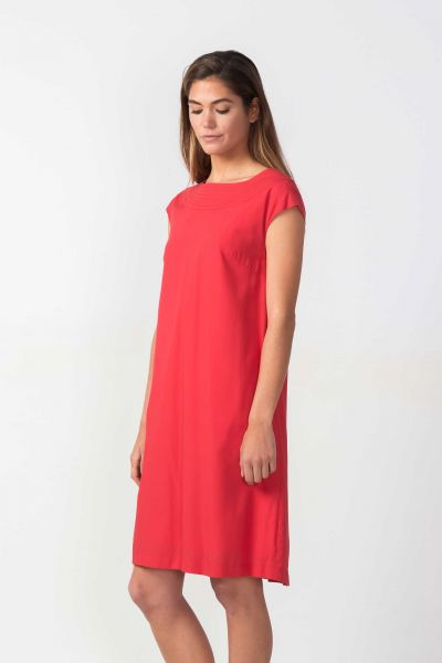 SKFK - OLAIA DRESS Kleid red
