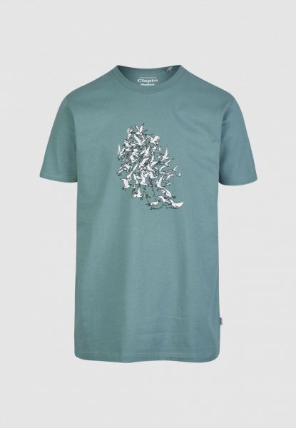 CLEPTOMANICX - RESSOURCES Shirt north atlantic