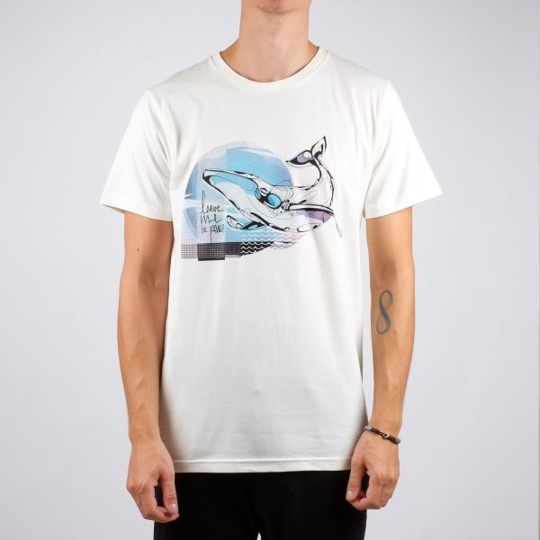 DEDICATED - WHALE Stockholm Shirt off white