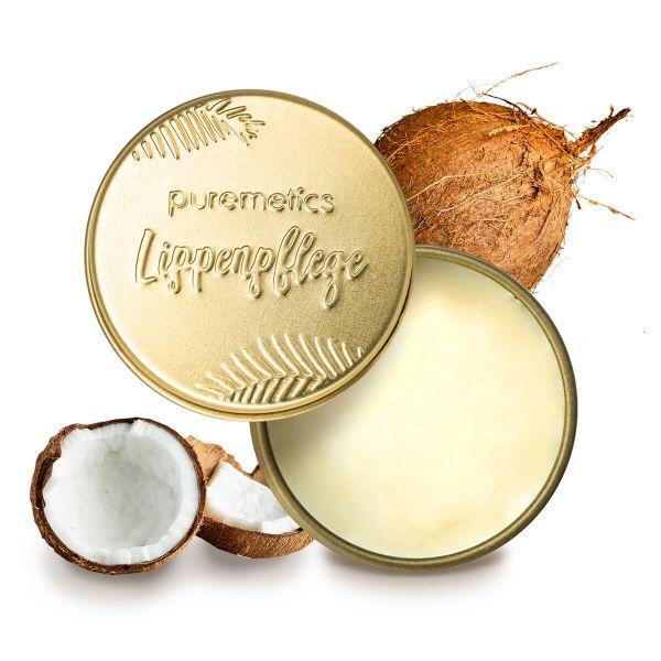 Puremetics - Lip Balm 'Coconut Cream' Lippenbalsam