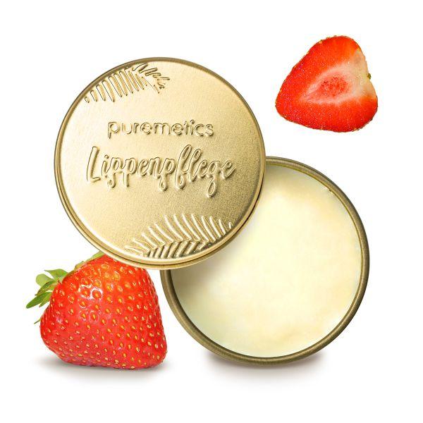 Puremetics - Lip Balm 'Erdbeere' Lippenbalsam