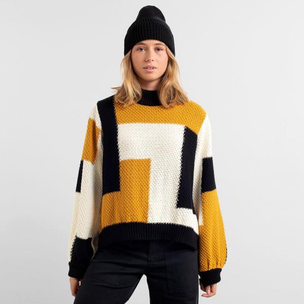 DEDICATED - RUTBO BLOCKS SWEATSHIRT Pullover multi color