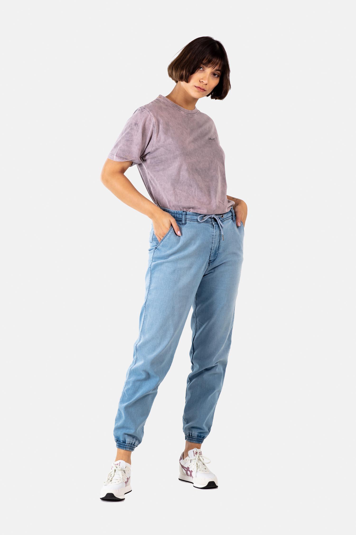 REELL-REFLEX-WOMAN-Hose-light-blue-denim