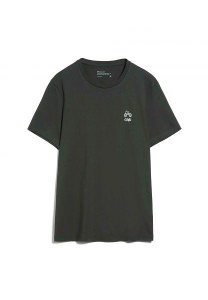 ARMEDANGELS - JAAMES STATEMENT T-Shirt dark pine