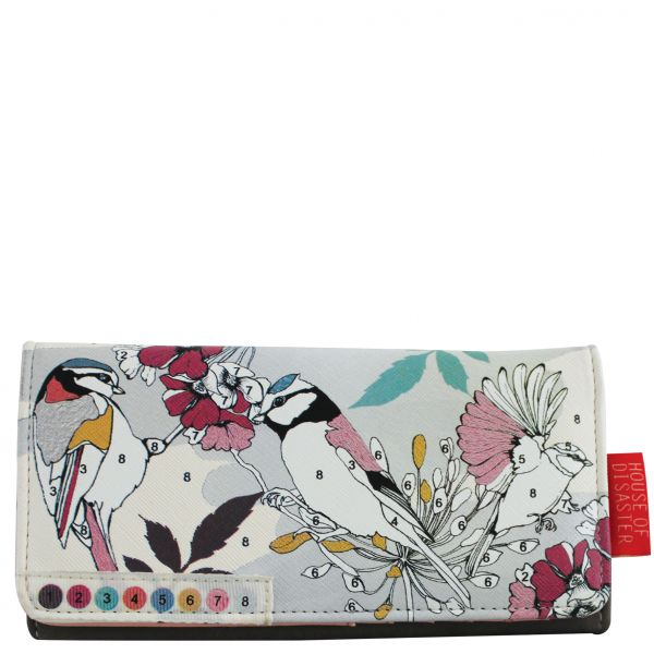 DISASTER DESIGNS - COLOR ME BIRD Wallet