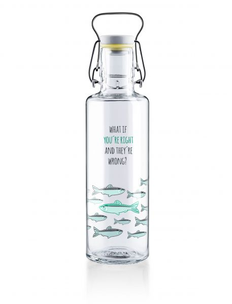SOUL BOTTLES - YOU'RE RIGHT Trinkflasche 0,6l