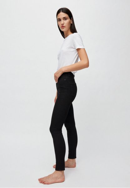 ARMEDANGELS - INGAA HIGH WAIST SKINNY Jeans black night