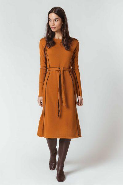 SKFK - GEBARA DRESS Kleid 66 roasted brown