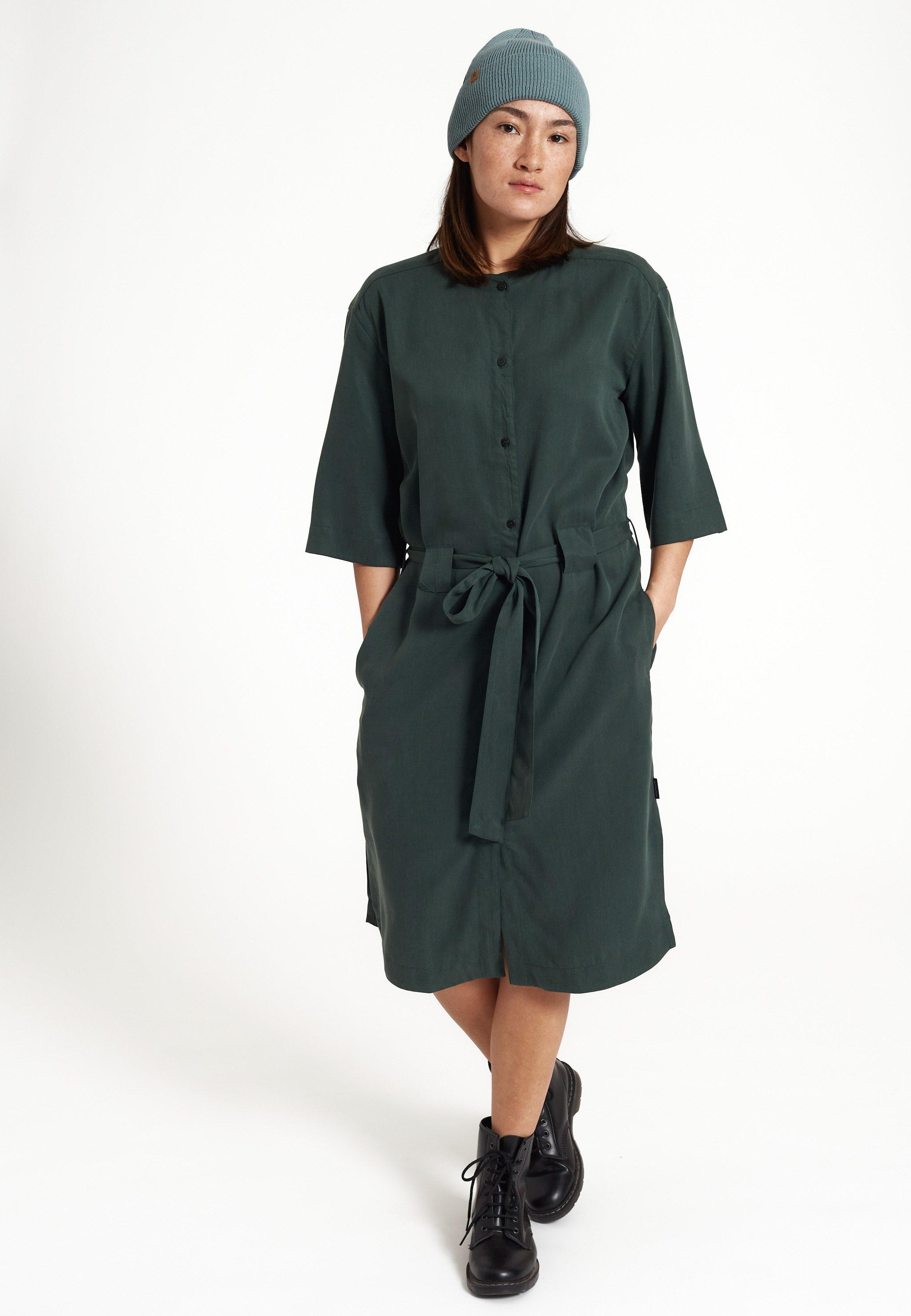 RECOLUTION-HAZEL-DRESS-Kleid-forest-green