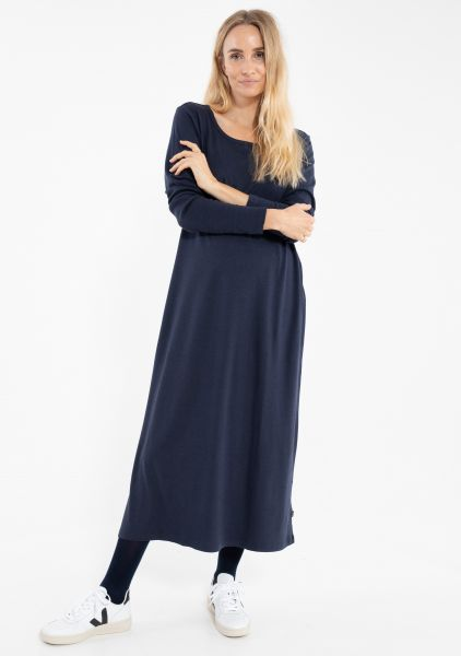 DANEFAE - CASILDA LS DRESS Kleid dark navy