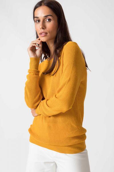 SKFK - IRADI SWEATER Pullover Y7 mineral yellow