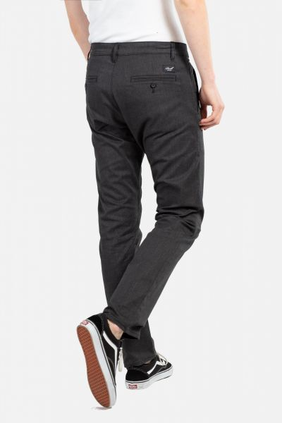 REELL - REGULAR FLEX CHINO Hose black stripes