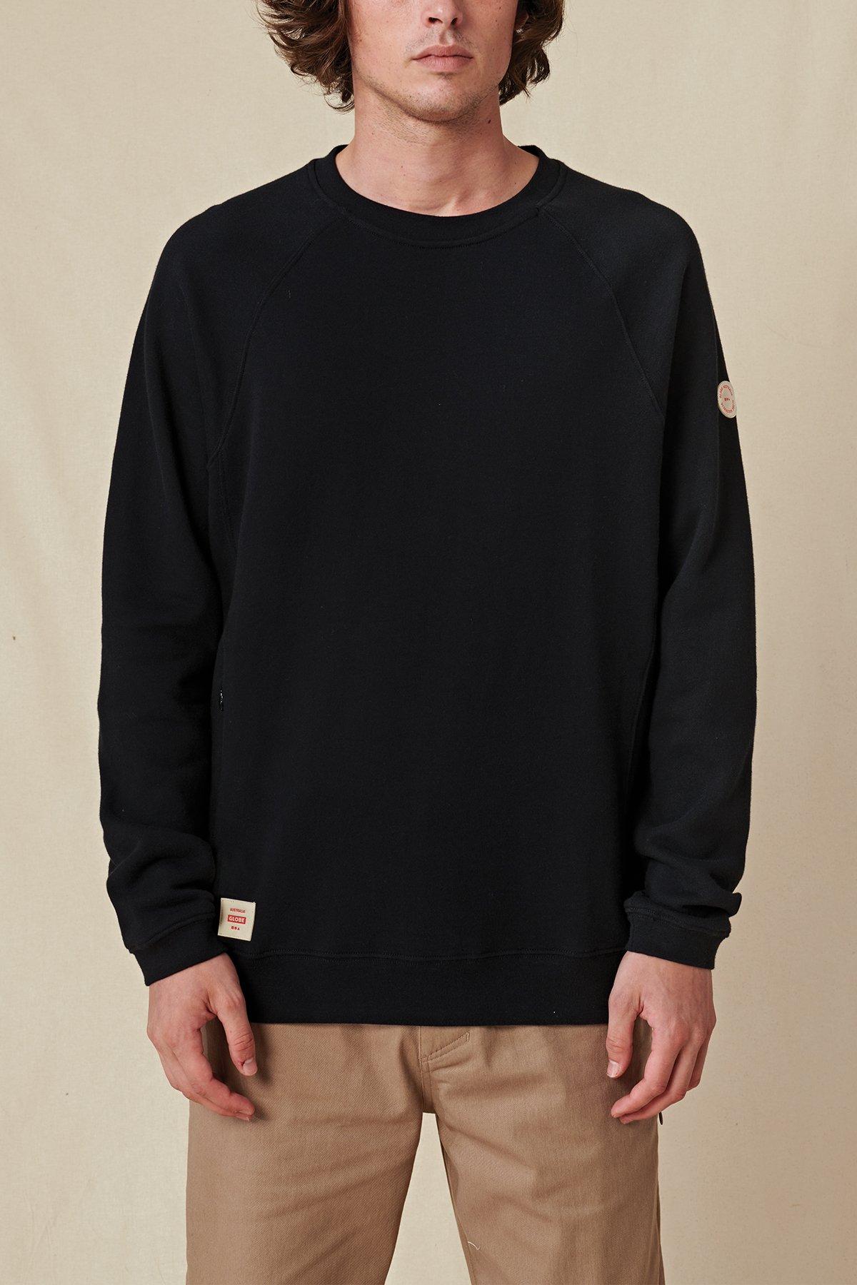 GLOBE-TRAVELLER-CREW-SWEATER-Pullover-black