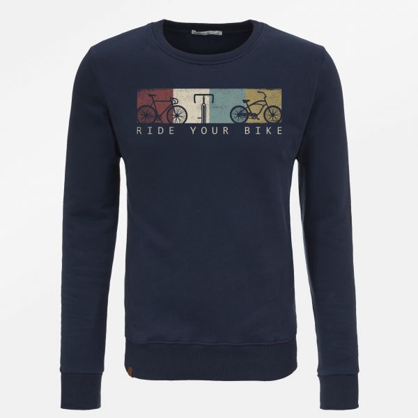 GREENBOMB- BIKE RIDE Pullover navy