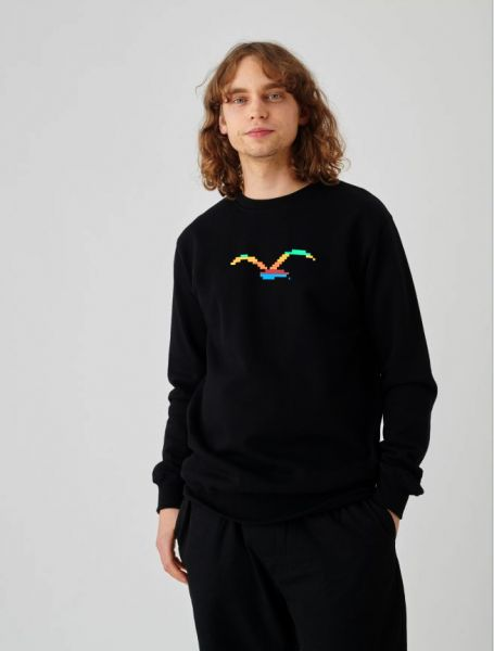 CLEPTOMANICX - CLEPTICX Sweatshirt Crewneck black