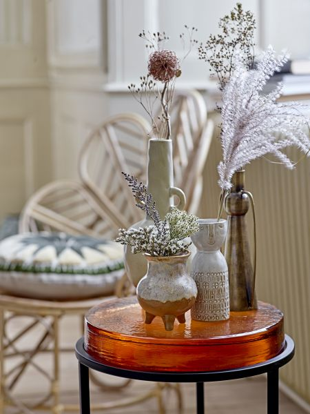 BLOOMINGVILLE - EMBLA Vase, White, Stoneware